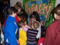 Wendy signing